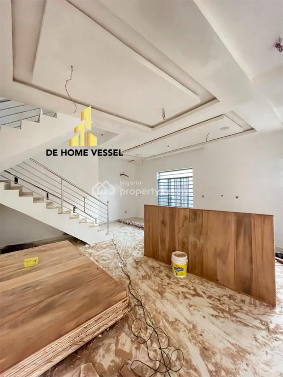 Fully Serviced 5 Bedroom Fully Detached Duplex with Roof Top Terrace, Ikate, Lekki, Lagos, Detached Duplex for Sale