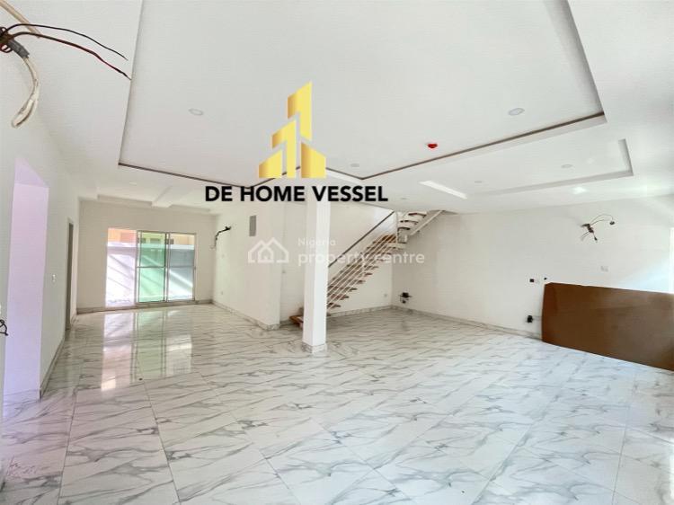 Super Affordable Spacious 4 Bedrooms Semi-detached Duplex with Bq, Lekki Phase 1, Lekki, Lagos, Detached Duplex for Sale