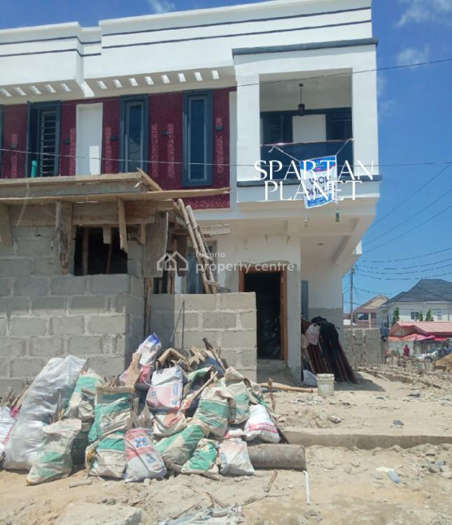 a 4 Bedroom Duplex, Chevron Ext., Agungi, Lekki, Lagos, Semi-detached Duplex for Sale