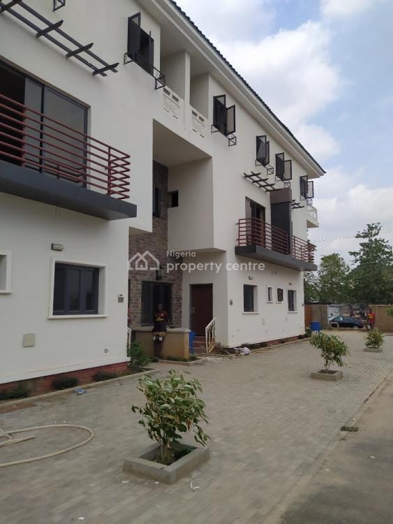 Beautiful 4 Bedroom Terrace Duplex with Bq, Jahi, Abuja, Terraced Duplex for Sale