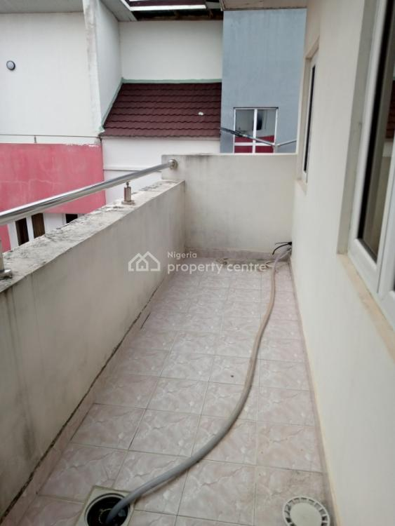 Serviced 4 Bedroom Terrace Duplex with a Room Bq, Bishops Court, Ikate Elegushi, Lekki, Lagos, Terraced Duplex for Rent