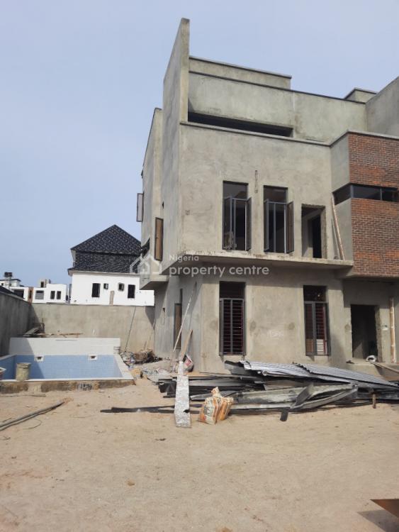 All Ensuite Fully Serviced 4 Bedroom Terrace Duplex Plus Bq, Kusenla Road, Ikate Elegushi, Lekki, Lagos, Terraced Duplex for Sale
