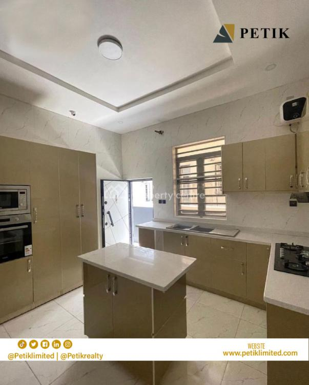 Luxury 4 Bedrooms Semi-detached Duplex with a Room Bq, Ikota, Lekki, Lagos, Semi-detached Duplex for Rent