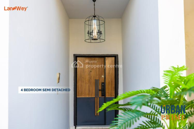 Luxury 4 Bedroom Semi-detached House with Excellent Facilities, Urban Prime 3 Phase 2, Ogombo, Ajah, Lagos, Semi-detached Duplex for Sale