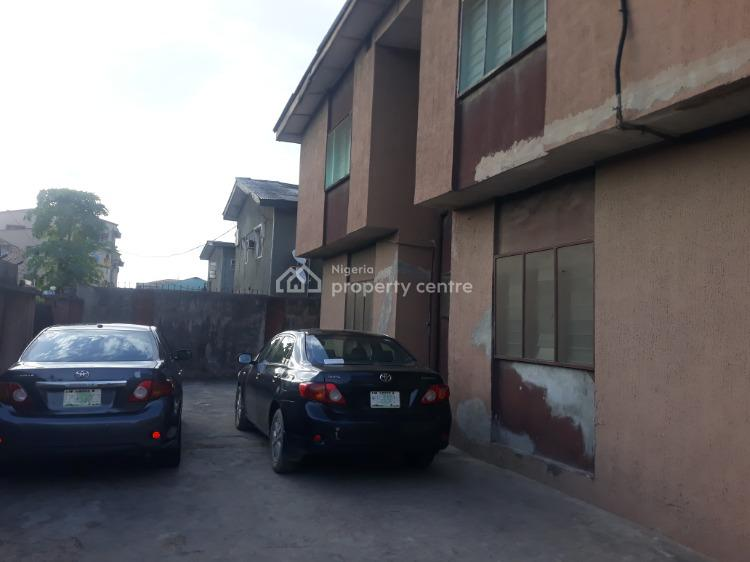 Very Strong,solid, Clean, Standard High Foundation of Block of 4 Flats, Avenue, Ago Palace, Isolo, Lagos, Block of Flats for Sale
