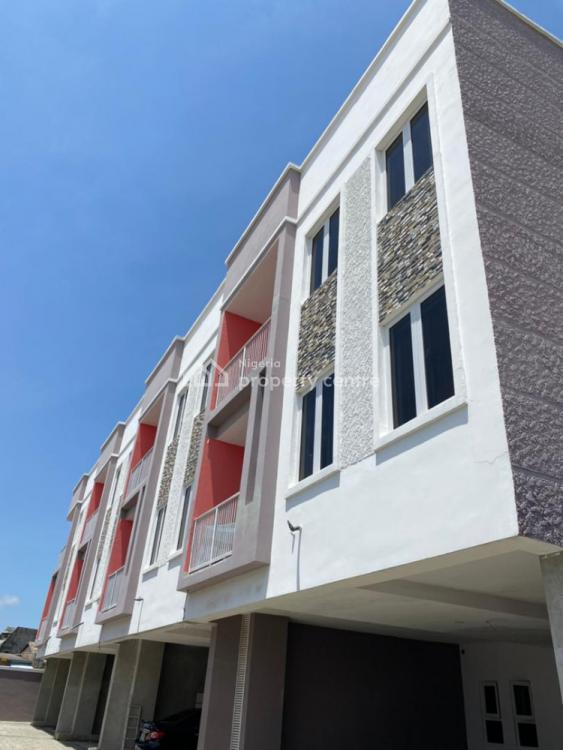 Beautiful 4 Units 4 Bedrooms Terrace Duplex Newly Built, Ologolo, Lekki, Lagos, Terraced Duplex for Sale