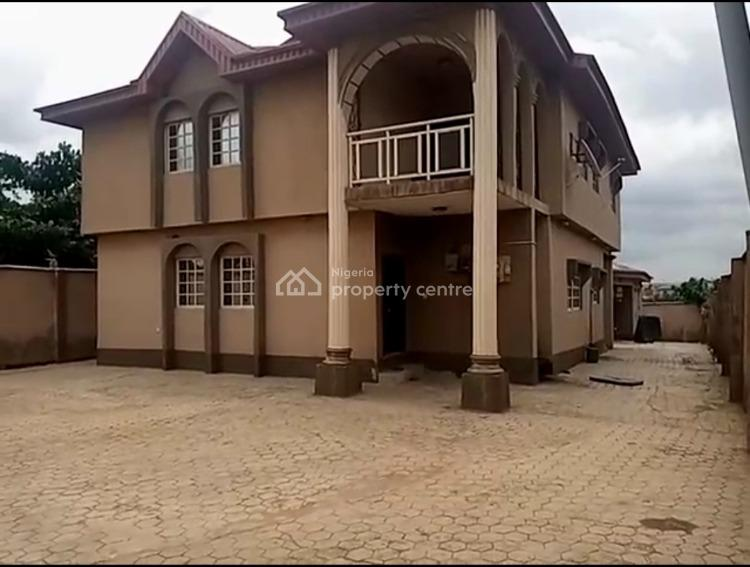 4 Bedroom Duplex with a 2 Bedroom Bq Set Back on a Full Plot of Land., Akute Road Ishola Close, Akute, Ifo, Ogun, Detached Duplex for Sale