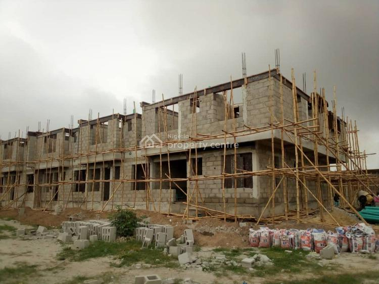2 Bedroom Terrace, Appleton Court Before Abraham Adesanya, Ajah, Lagos, Terraced Duplex for Sale
