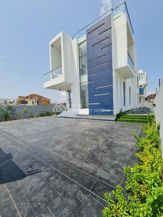Waterfront 5 Bedroom Fully Detached House, Pinnock Beach Estate, Osapa, Lekki, Lagos, Detached Duplex for Sale