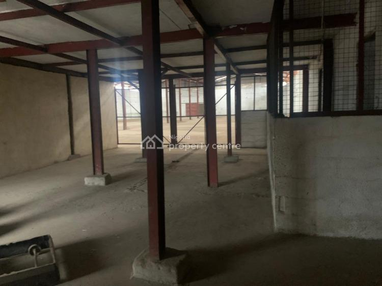 Neatly Used 3 Bays Warehouse with Adminstrative Office and Flat, Ajao Estate Road Off Osolo Way, Isolo, Lagos, Warehouse for Rent