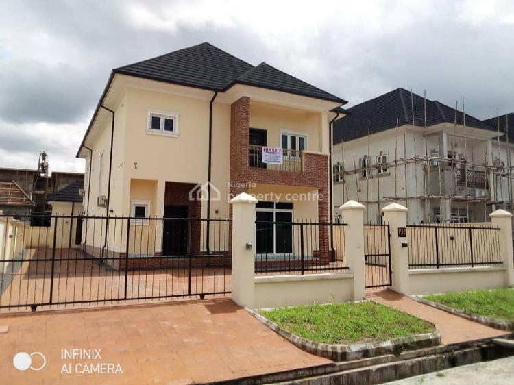 Executive Luxury Brand New Detached 4 Bedroom Duplex with 2 Room Bq, Golf Estate, Off Peter Odili Road, Trans Amadi, Port Harcourt, Rivers, Detached Duplex for Sale