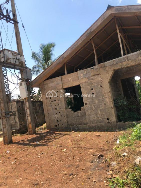 4 Rooms Uncompleted on Full Plot of Land, Itele Ogun State Close to Ayobo, Ipaja, Lagos, Detached Bungalow for Sale