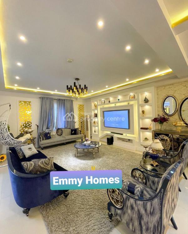 Fully Furnished 4 Bedroom Fully Detached Duplex with Bq, Megamond Estate, Ikota, Lekki, Lagos, Detached Duplex for Sale