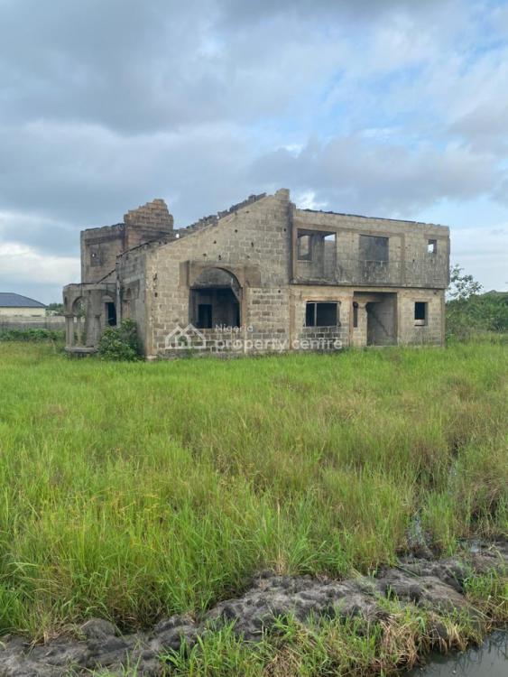 5 Bedroom Detached Duplex (carcass), Off Subola Abu Street, Ogombo, Ajah, Lagos, Detached Duplex for Sale