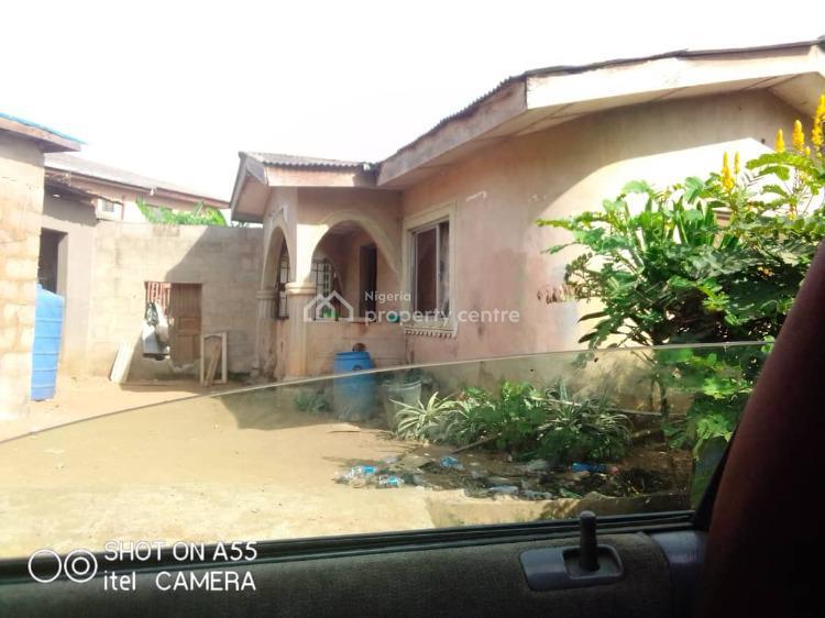 3 Bedroom on Almost Half Plot of Land, Bada Ayobo, Ipaja, Lagos, Detached Bungalow for Sale