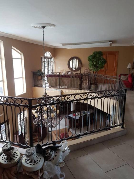 Luxury 6 Bedrooms Duplex + 2 Rooms Bq + Swimming Pool + Cars, Nicon Town, Lekki, Lagos, Detached Duplex for Sale