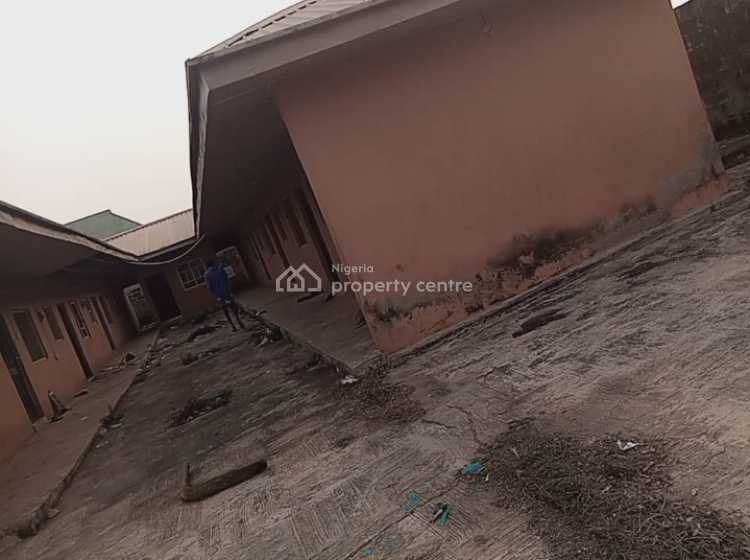 22 Rooms Hostel with 3 Lockup Shops, Futa North Gate, Akure, Ondo, Hostel for Sale