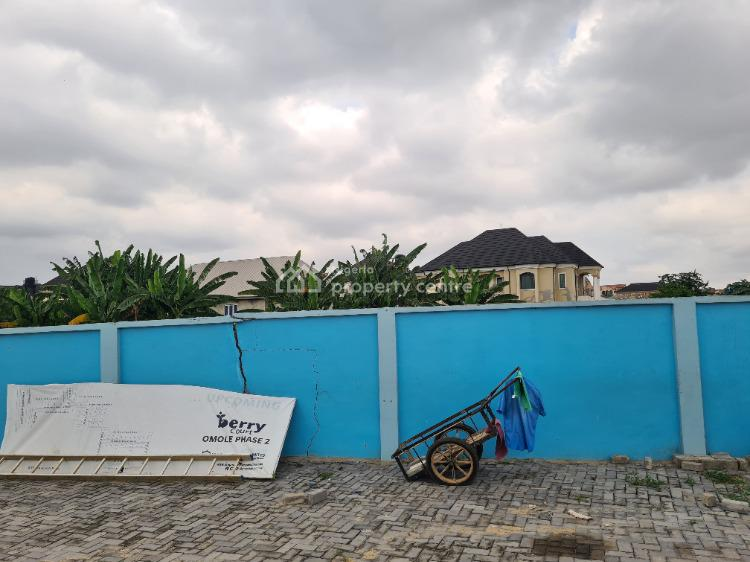 Highly Profitable C of O Land with Excellent Facilities, Extension Sharing Boundary with Magodo, Omole Phase 2, Ikeja, Lagos, Residential Land for Sale