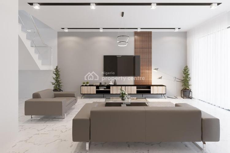 4 Bedrooms Terrace Duplex with 2 Room Bq, Banana Island, Ikoyi, Lagos, Terraced Duplex for Sale
