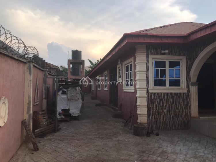 2 Nos 2 Bedroom Flat Bungalow with 2 Shops, Block Ae Ajimokun Odaniki Layout, Along Irese Road, Sagari Village, Akure, Ondo, Semi-detached Bungalow for Sale