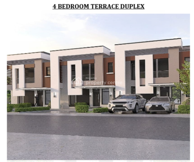 Estate Land for 4 Bedroom Terraced Duplex, Diplomatic Villa, Sabon Lugbe, Lugbe District, Abuja, Residential Land for Sale