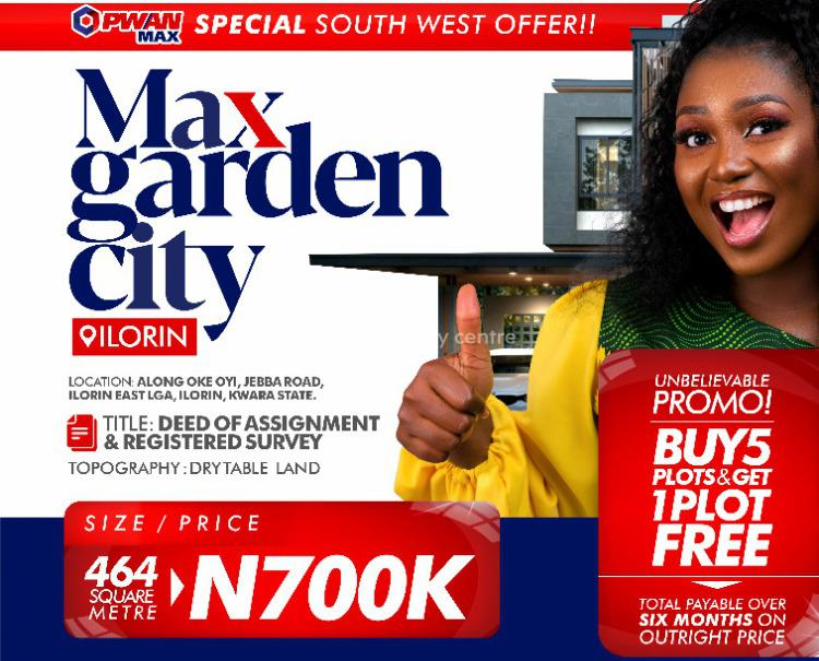 Max Garden City Estate, Max Garden City Estate, Oke-oyi, Jebba Road., Ilorin East, Kwara, Mixed-use Land for Sale