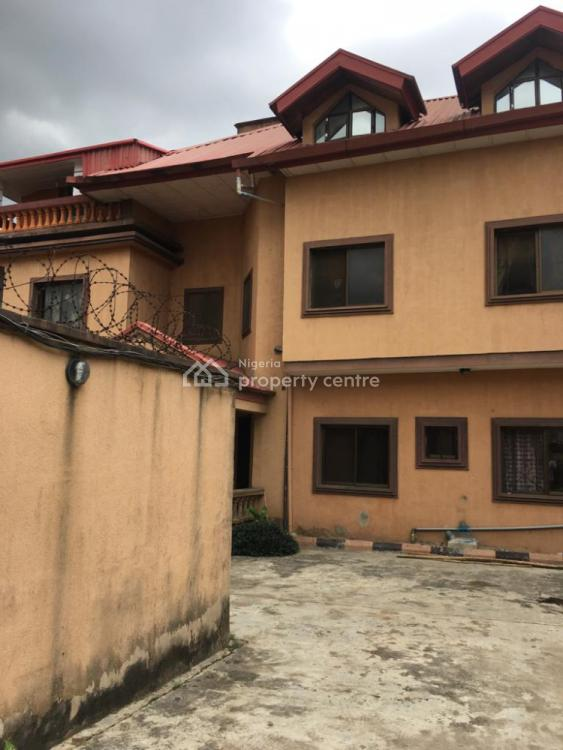Decent Block of 3 Numbers Flats Plus a Room Self Contained, Muyiwa Alder Street, Gra Phase 1, Magodo, Lagos, Block of Flats for Sale