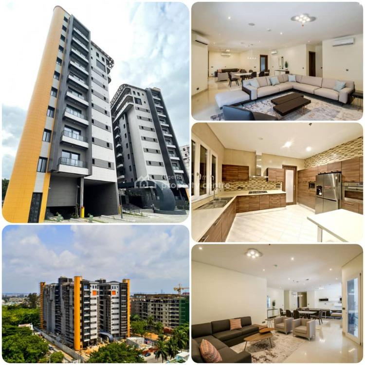 Ultra Luxury 4 Bedrooms Apartment with 2 Bq, Empire Court, Ikoyi, Lagos, Block of Flats for Sale
