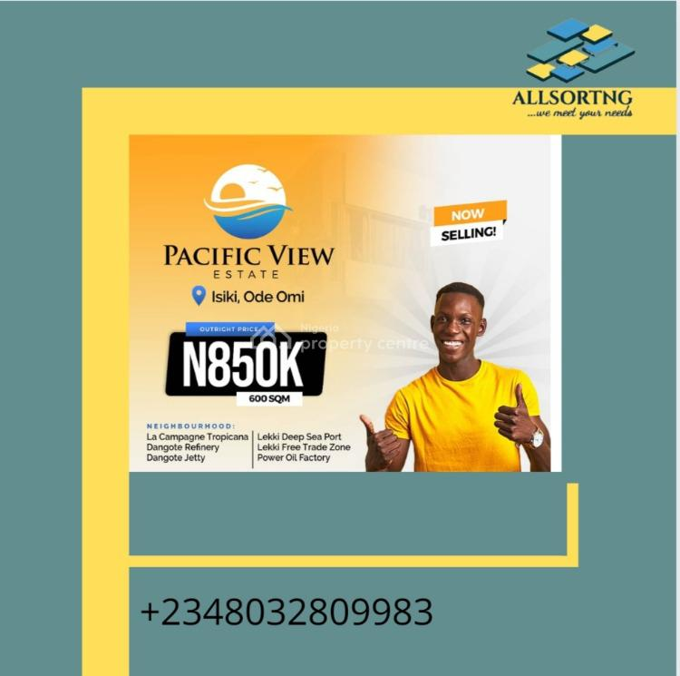 Mixed-use Land, Pacific View, Ibeju Lekki, Lagos, Mixed-use Land for Sale
