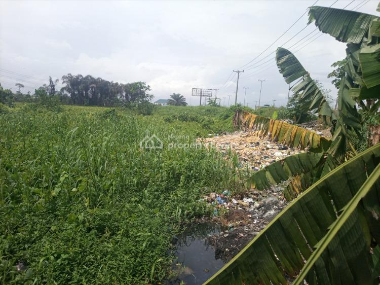 Well Located and Accessible Land, Major Eliozu Road, Port Harcourt, Rivers, Mixed-use Land for Sale