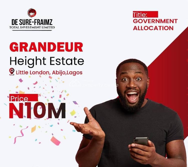 Grandeur Heights Estate, Abijo, Lekki, Lagos, Residential Land for Sale
