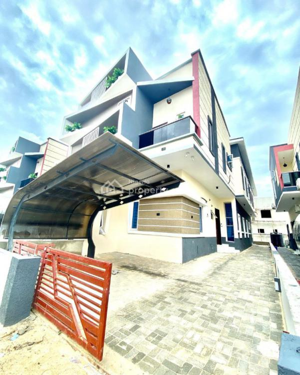 Contemporary, Smart 4 Bedrooms Semi-detached Houses;, in a Very Tranquil Estate, Off 2nd Tollgate., Lekki, Lagos, Semi-detached Duplex for Sale