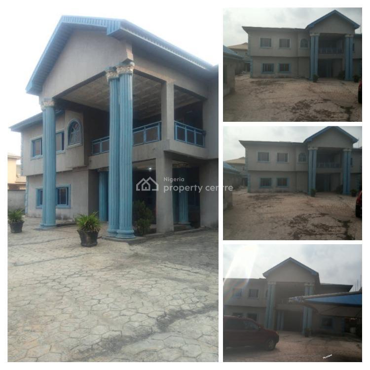 Massive 7 Bedroom Mansion on 1100 Smq, Orioke, Ori-oke, Ogudu, Lagos, House for Sale