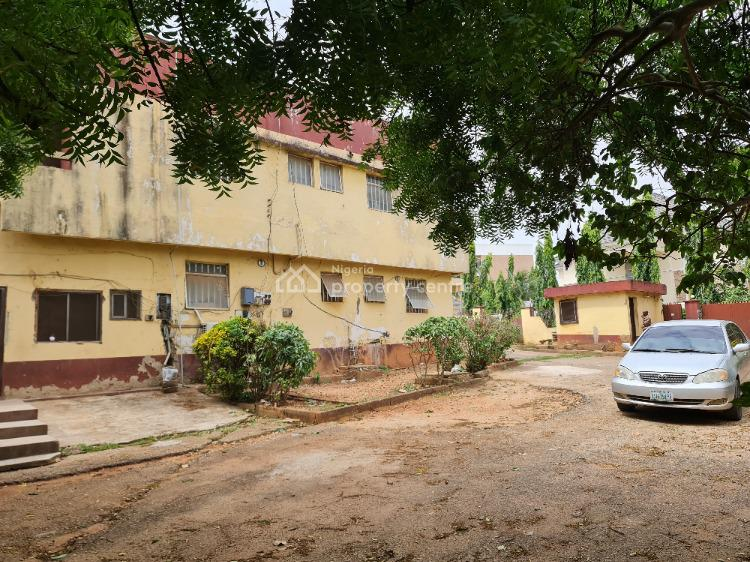 Awoof  Dilapidated Detached Duplex at Giveaway Price, Asokoro Main, Asokoro District, Abuja, House for Sale