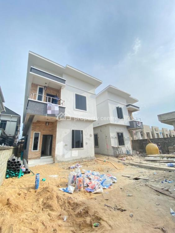 This Exquisitely Finished 5 Bedroom Fully Detached Duplex and a Bq, Chevron, Lekki, Lagos, Detached Duplex for Sale