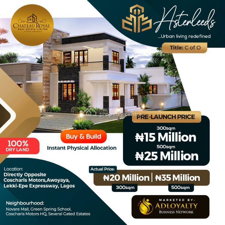 Prime Plots of Estate Land in Strategic Location, Awoyaya, Ibeju Lekki, Lagos, Residential Land for Sale
