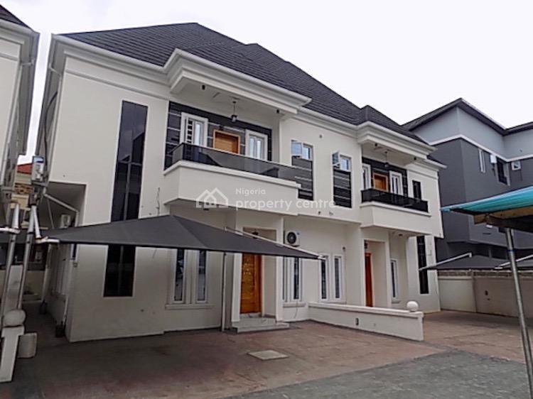 4 Units of 4 Bedrooms Semi Detached Duplex with Bq and 24 Hours Power, Chevron, Lekki, Lagos, Semi-detached Duplex for Rent