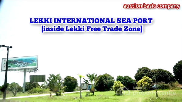 9.458 Hectares Or 142 Plots  at The Lekki Free Trade Zone Area with Governors Consent, Lekki Free Trade Zone, Lekki, Lagos, Land for Sale