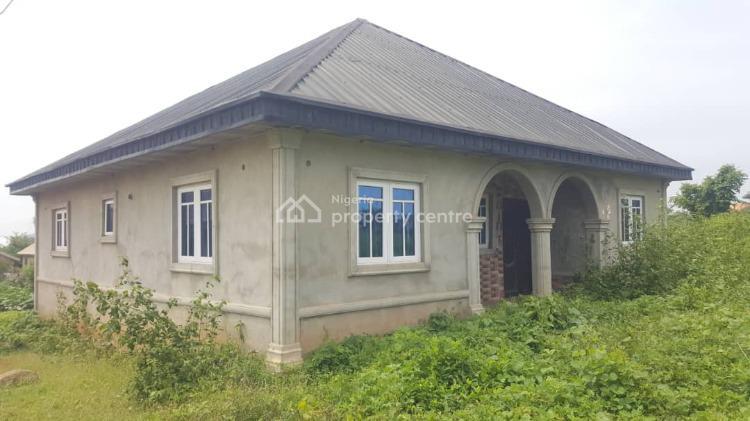 3 Bedroom Bungalow, Oke Odu, Akure, Ondo, Detached Bungalow for Sale