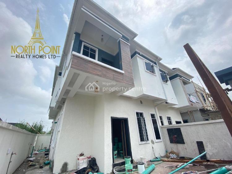 4 Bedroom Semi-detached Duplex with Bq, Ajah, Lagos, Semi-detached Duplex for Sale
