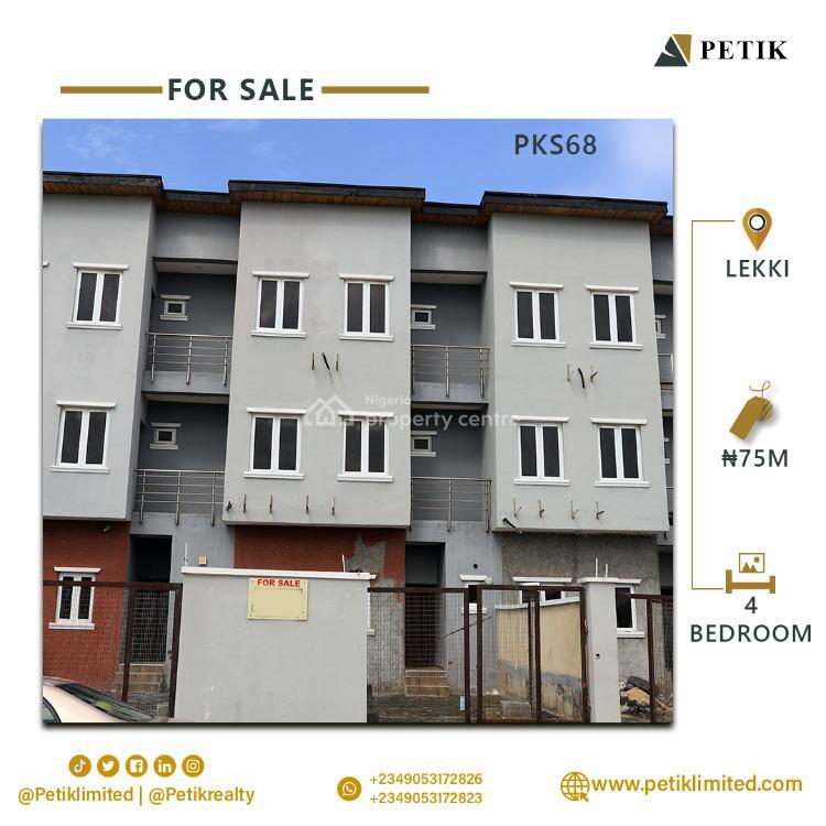 4-bedroom Semi Detached Duplex, Maruwa, Lekki, Lagos, Detached Duplex for Sale