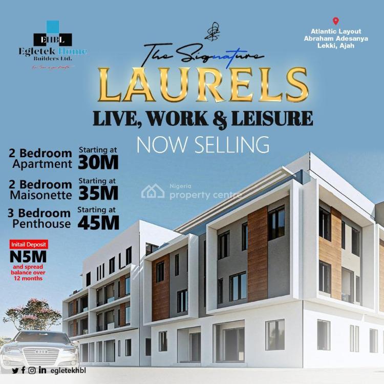 Luxury 2 Bedroom Apartment, Sangotedo, Ajah, Lagos, Block of Flats for Sale