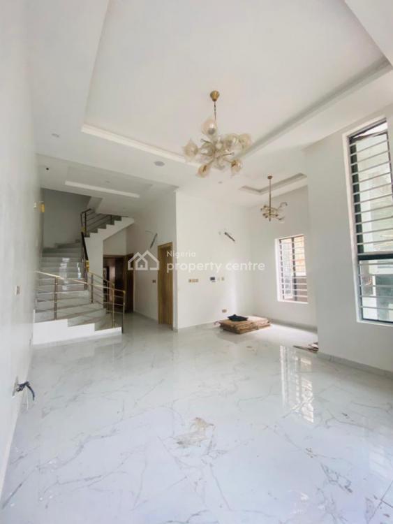 4 Bedroom Semi Detached Duplex with B/q, Chevron Alternative, Lekki, Lagos, Semi-detached Duplex for Rent