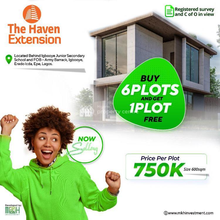 Landed Property, Igbooye Eredo, Epe, Lagos, Residential Land for Sale