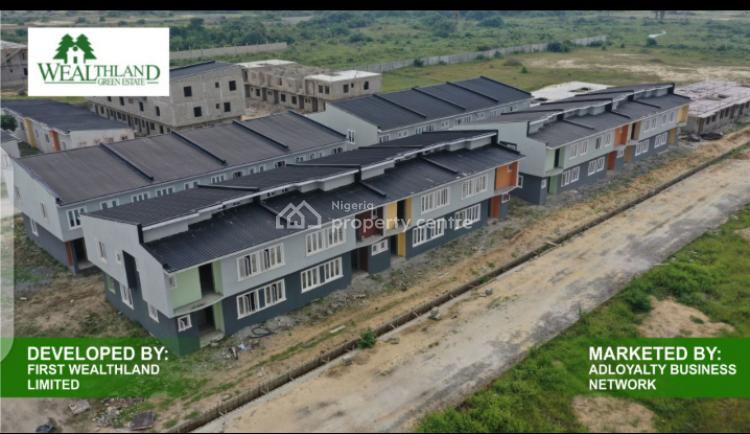 3 Bedroom Terrace Duplex in Wealthland Estate, Wealthland Estate Oribanwa, Awoyaya, Ibeju Lekki, Lagos, Terraced Duplex for Sale
