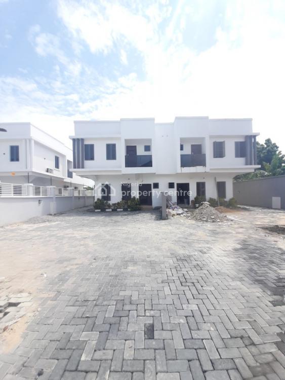 Newly Built 4 Semi Detached Duplex, Monastery  Road By Shoprite, Sangotedo, Ajah, Lagos, Semi-detached Duplex for Sale