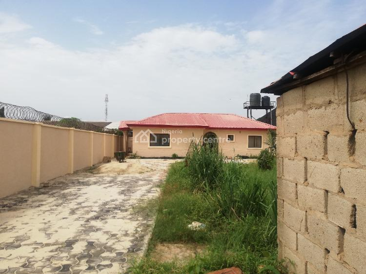 Newly Renovated 3 Bedroom Self Compound Close to The Road, Igbogbo, Ikorodu, Lagos, Detached Bungalow for Rent