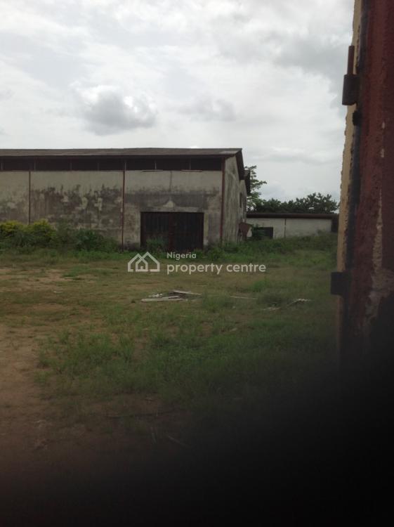 Industrial Property with Supporting Warehouses Beside Viju Milk, Lusada-igbesa, Sango Ota, Ogun, Factory for Sale