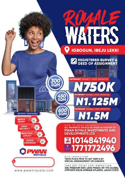 Land, Royal Waters, Igbogun, Ibeju Lekki, Lagos, Residential Land for Sale
