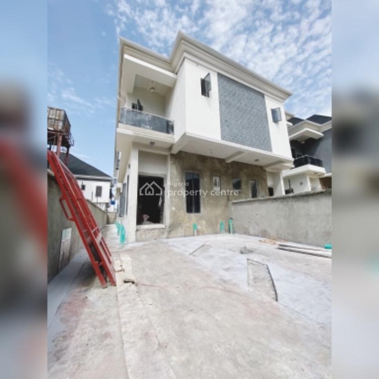Spacious 4 Bedroom Semi Detached Duplex, By Chevron Toll, Lekki, Lagos, Semi-detached Duplex for Sale